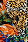 Pañuelo patchwork retro naranja