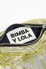 Lime mesh cylindrical bag