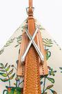 Bolso saca L Bouquet beige